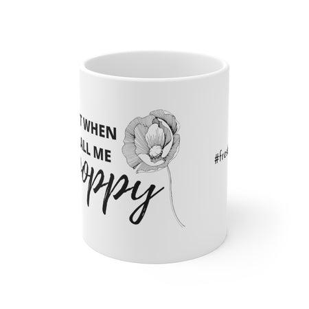 Big Poppy Coffee Mug