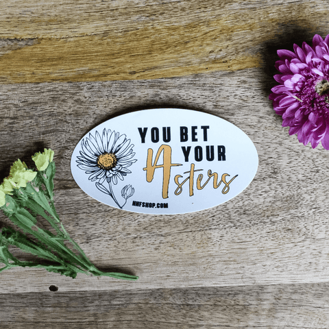 Punny Flower Sticker Set