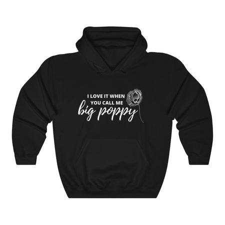 Big Poppy Hooded Sweatshirt