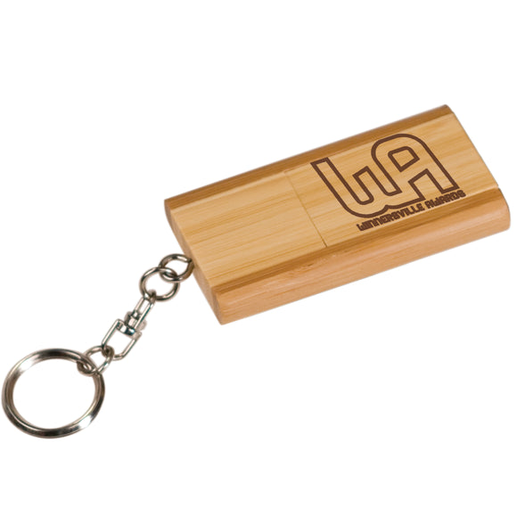 Bamboo 8GB USB Flash Drive/Keychain