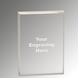 "1"" Thick Acrylic Award"