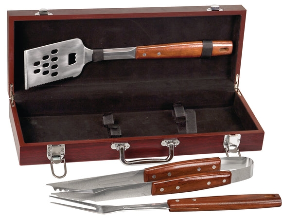BBQ Set - 3 Piece Rose Wood