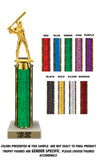 "Traditional Single Column - 12"" Trophy"