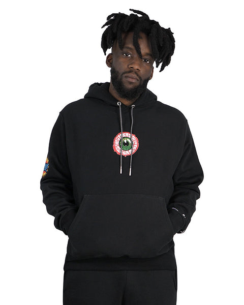culturier® on champion patchwork Hazard Hood LSM. [Black]