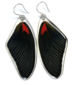 Butterfly Earrings, Scarlet Mormon, Top Wing