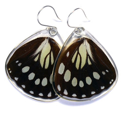 Butterfly Earrings, Forest Queen, Bottom Wing