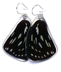 Butterfly Earrings, Forest Queen, Top Wing