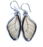 Butterfly Earrings, Amber Phantom, Top Wing