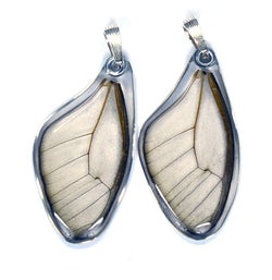 Butterfly Wing Pendant Only, Amber Phantom, Top Wing