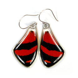 0547 Butterfly Wing Earrings, BD Butterfly, top wings
