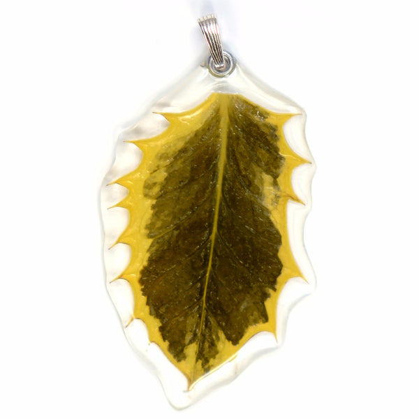 Holly Leaf Pendant