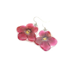 63044 African Violet Earrings