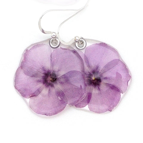 69102 Pink Phlox earrings