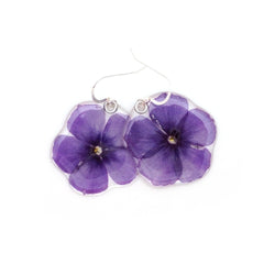 69104 Purple Phlox earrings