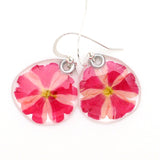 69107 Candy Striped Verbena Earrings
