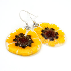 69109 Coreopsis Flower Earrings