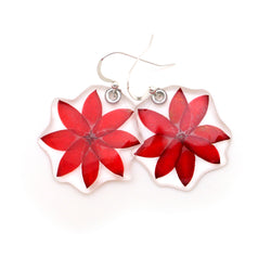69213 Lucky Star Flower Earrings