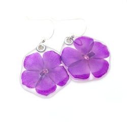 69214 Amethyst Phlox earrings