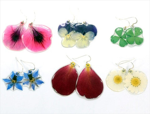 "Earrings ""Fiore"", assorted"
