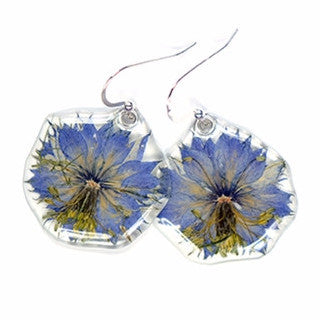 Nigela flower earrings