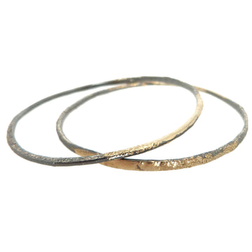 Crescent Stacker Bangles