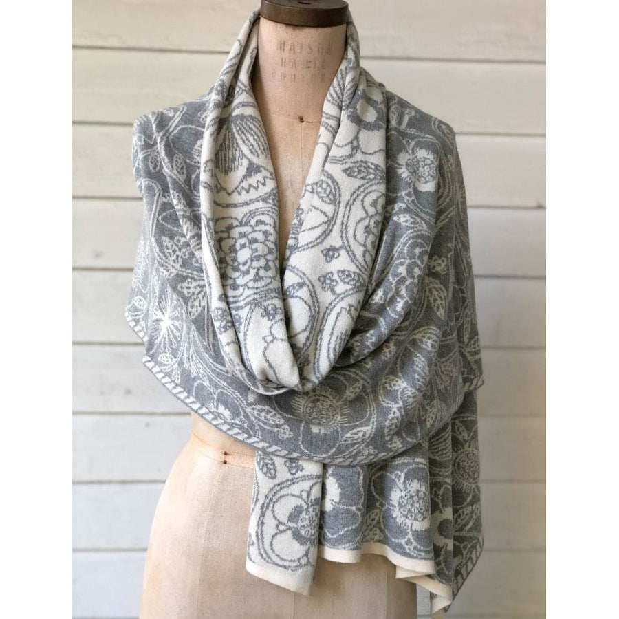 100% Italian Spun Egyptian Cotton Body Cocoon Wrap: Deco Print
