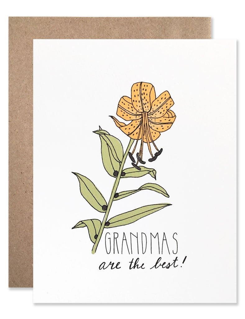 Grandmas Are The Best Card