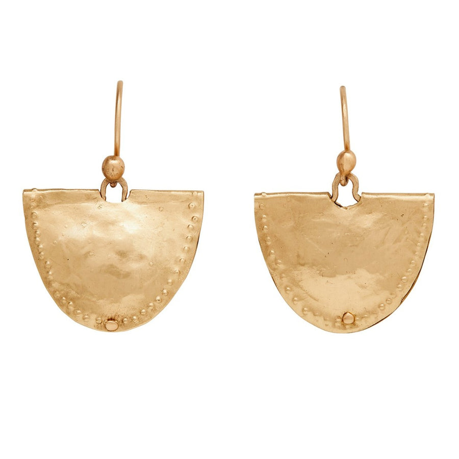 Mevia Earrings In Bronze