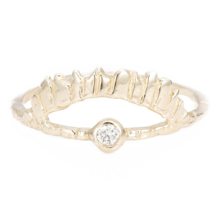 Rays of Light Ring - White Diamond