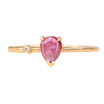 Wink Hot Pink Ruby Ring