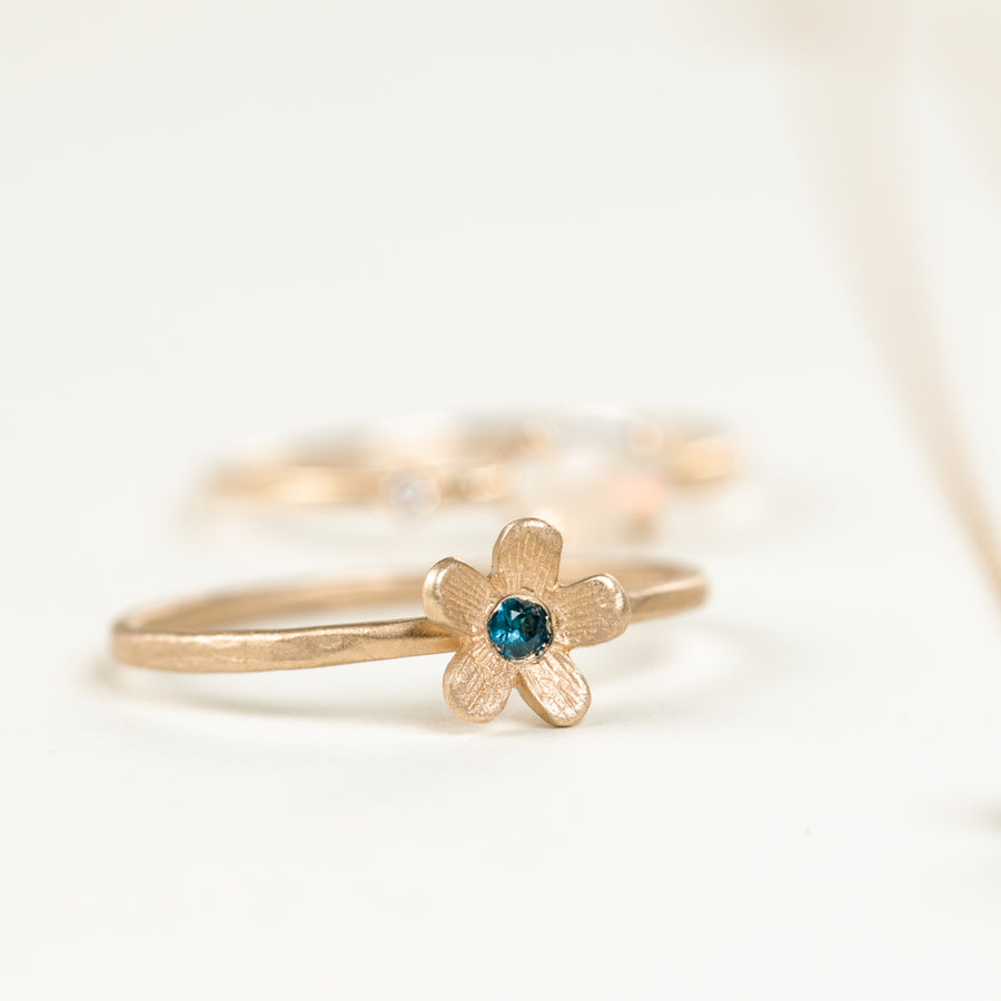 Buttercup Sapphire Ring - 14k Gold
