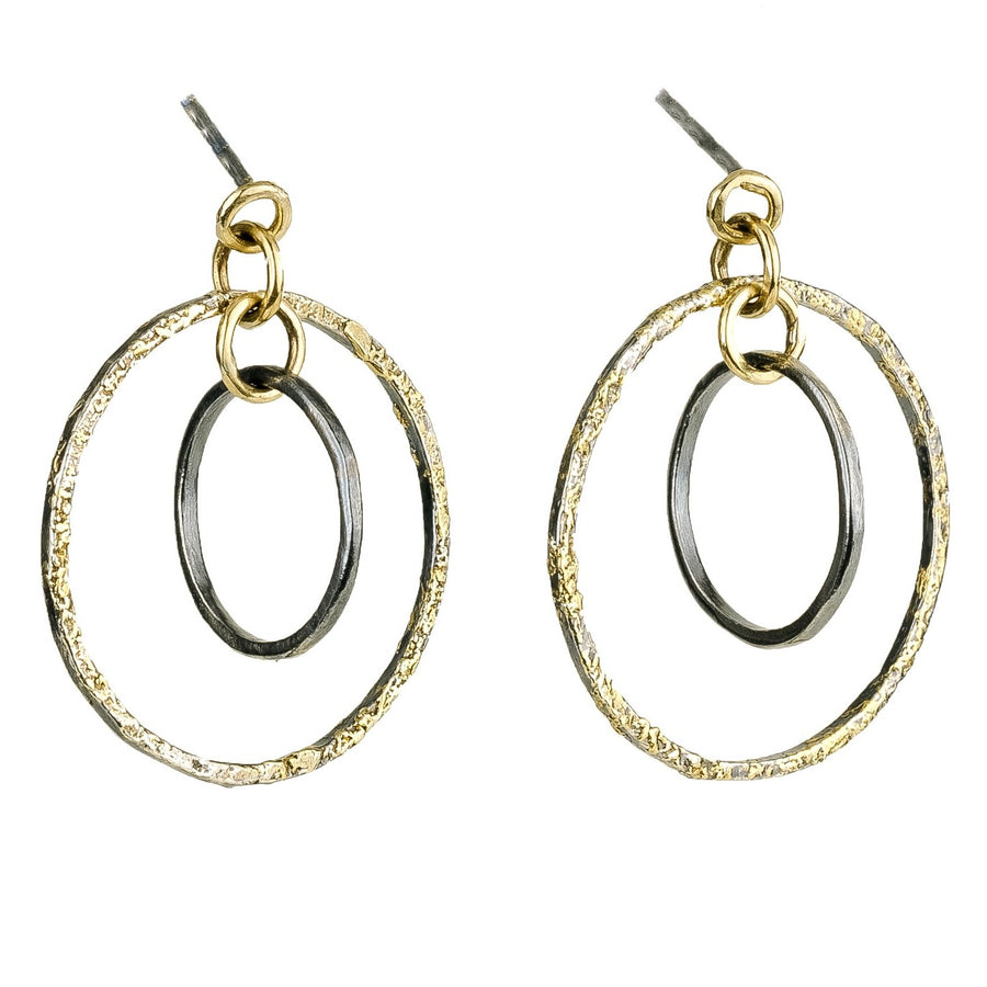 Mini Orbit Hoop Earrings