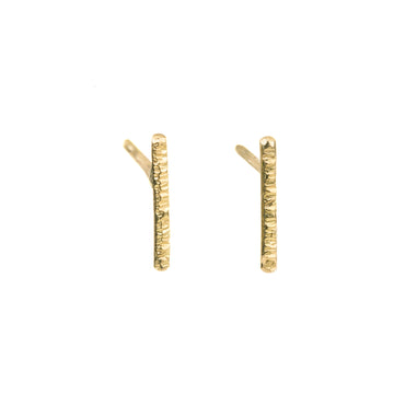 Gold Bar Studs - 18ky Gold