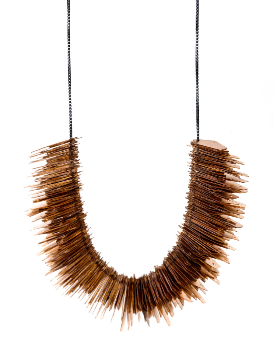 Jagged Gold Necklace