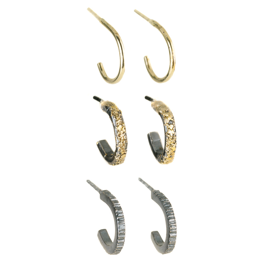 The Miniest Hoop Earrings