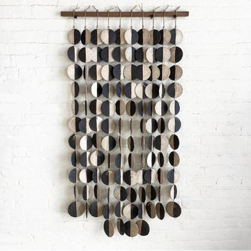 MQuan Ceramic 10 Strand Disc Wall Hanging