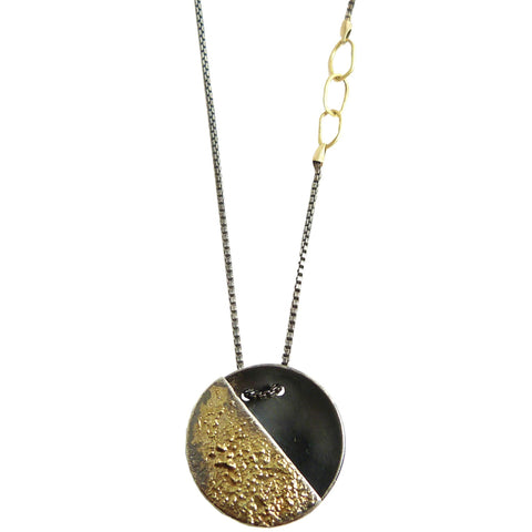 Quarter Moon Necklace