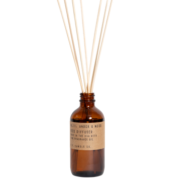 P.F. Candle Co - Amber & Moss 3.5oz Reed Diffuser