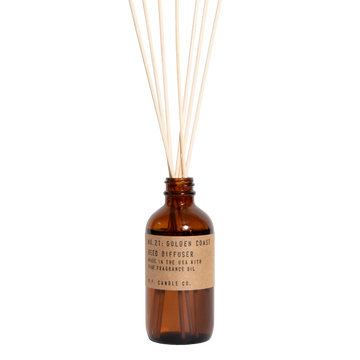 P.F. Candle Co - Golden Coast 3.5oz Reed Diffuser