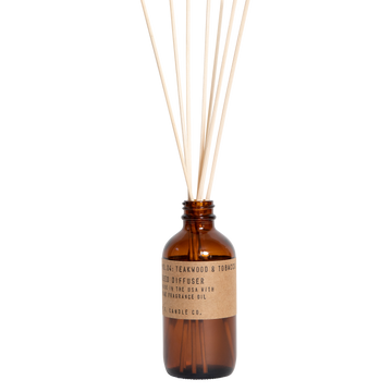 P.F. Candle Co - Teakwood & Tobacco 3.5oz Reed Diffuser
