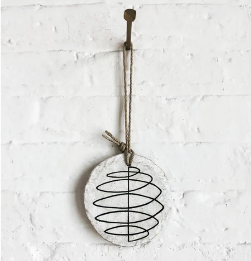 Round Ornament: Spiral - Large