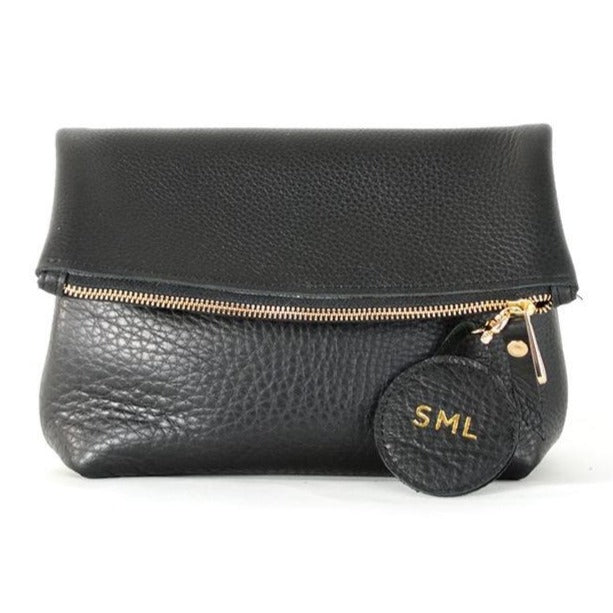 Tre Clutch Bag - Black