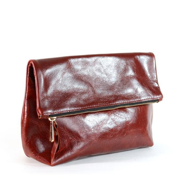 Tre Clutch Bag - Oxblood