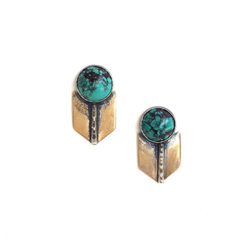 Archer Studs with Turquoise