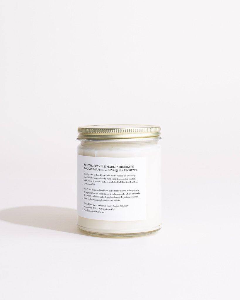Fern + Moss Minimalist Candle by Brooklyn Studio