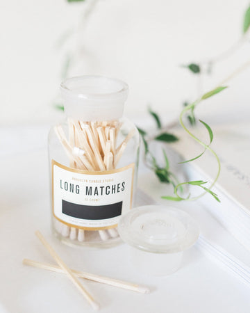 Apothecary Match Bottle, Long Matches