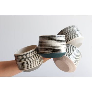 Ebb & Flow Striped Mug  - Ceramics