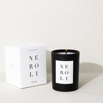 Neroli Noir Candle by Brooklyn Studio