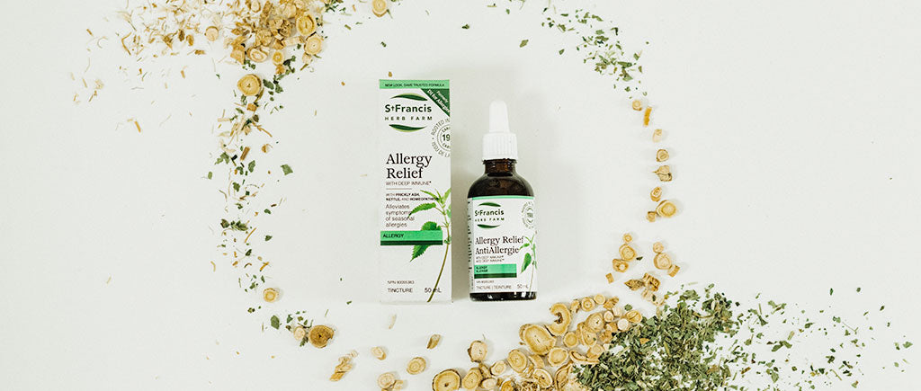 St Francis Herb Farm Allergy Relief