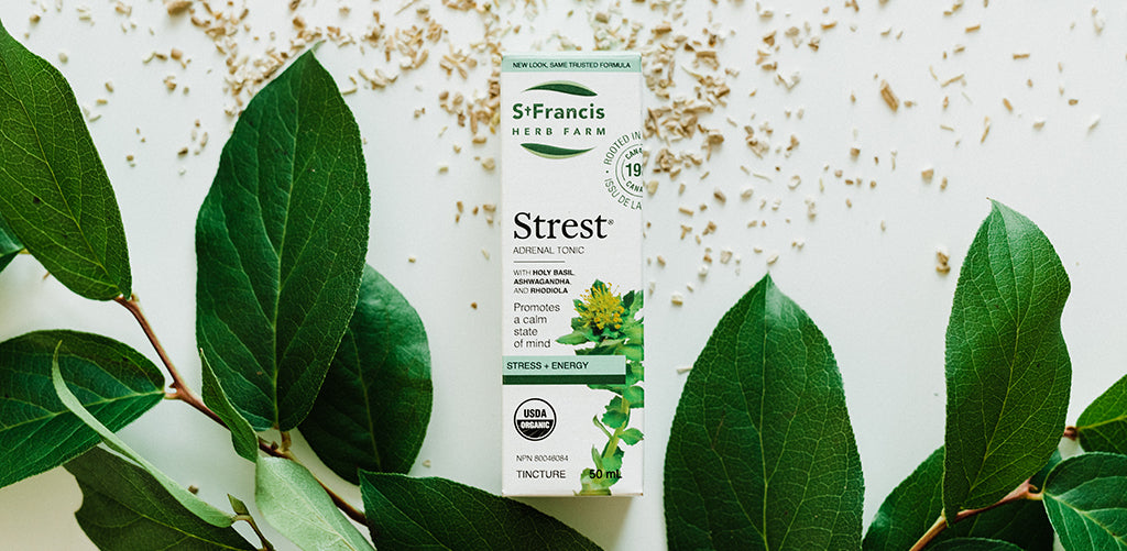 Strest ticture by St Francis Herb Farm
